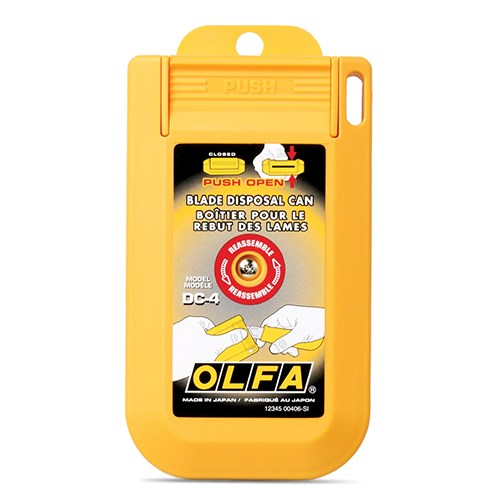 BLADE OLFA DISPOSAL  CASE DC-4