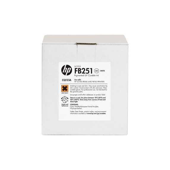 HP FB251 White Ink