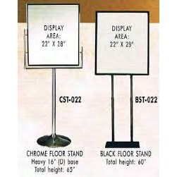 Metal Frame Floor Stand