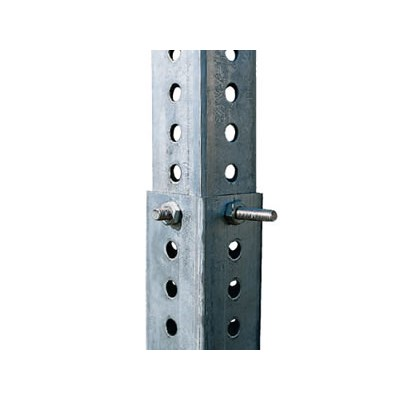 Perforated Sign Post