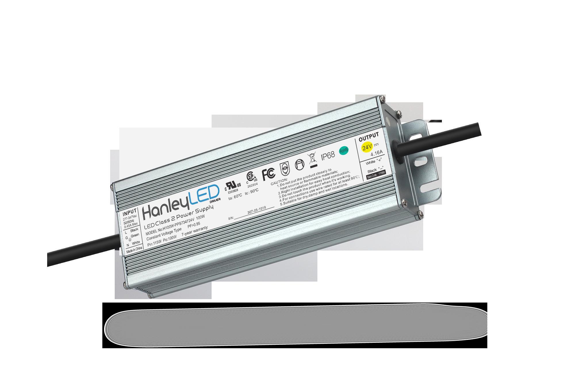 HanleyLED 347V Input Premium Power Supplies