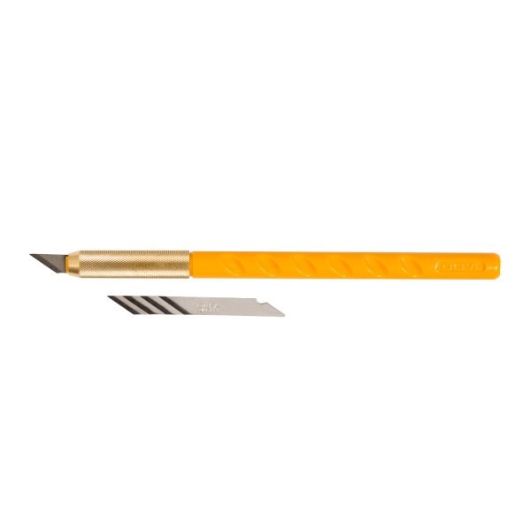 OLFA Art Knife w/5 Blades AK-1 / 5B