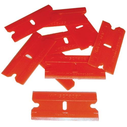 Safe Scrape Plastic Razor Blades