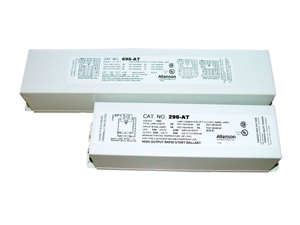 Allanson High Output Fluorescent Ballast
