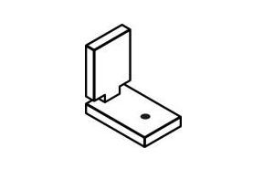 Signcomp 5300 Divider Corner Angle
