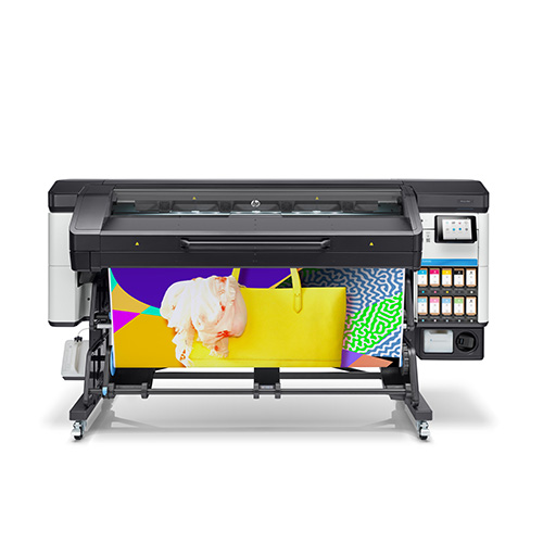 HP Latex 700W front with printed media