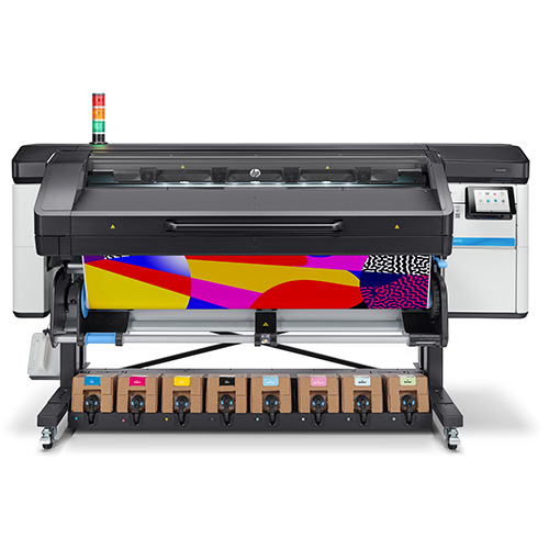 HP Latex 800 front with printed media
