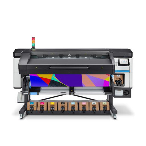HP Latex 800W front with printed media