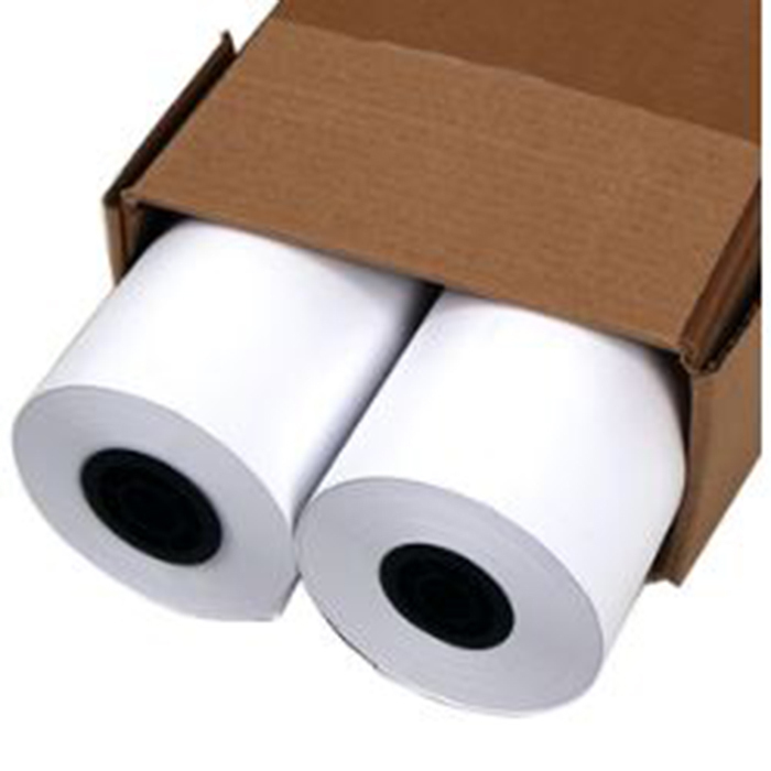 2 white rolls in a box