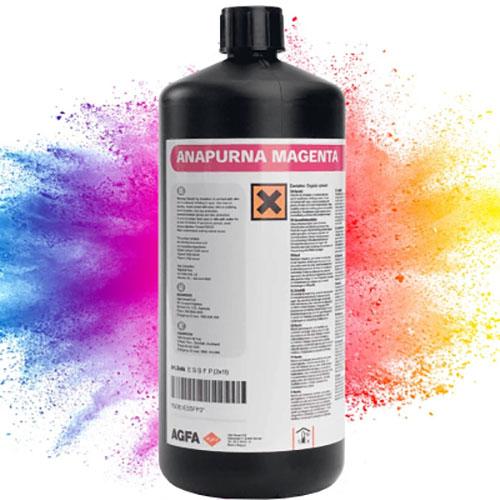 color explosion behind ink bottle