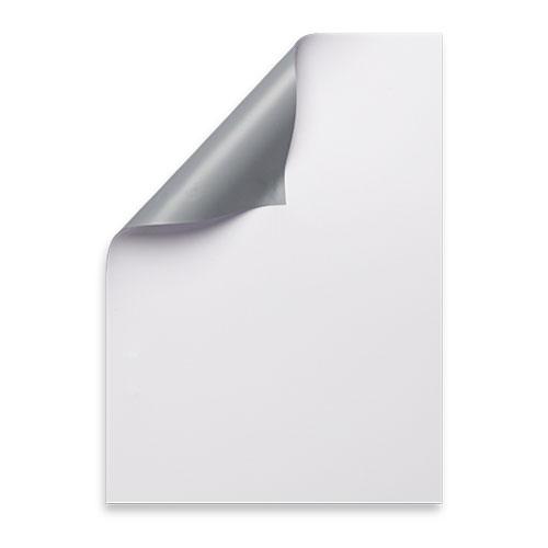 white banner gray back corner