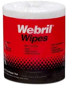 Webril Wipes 8 x 8 (Case of 8)